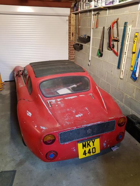 Photo of Davrian Sports Car in Garage