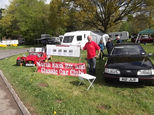 Club Stand at Stoneleigh Show